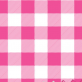 Hot Pink Check Mini Market Tote