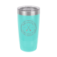 Whatever Floats Teal 20oz Insulated Tumbler